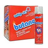 (1 master case) Refined Butane Fuel by Whip-it! 96 Cans 5X Butane