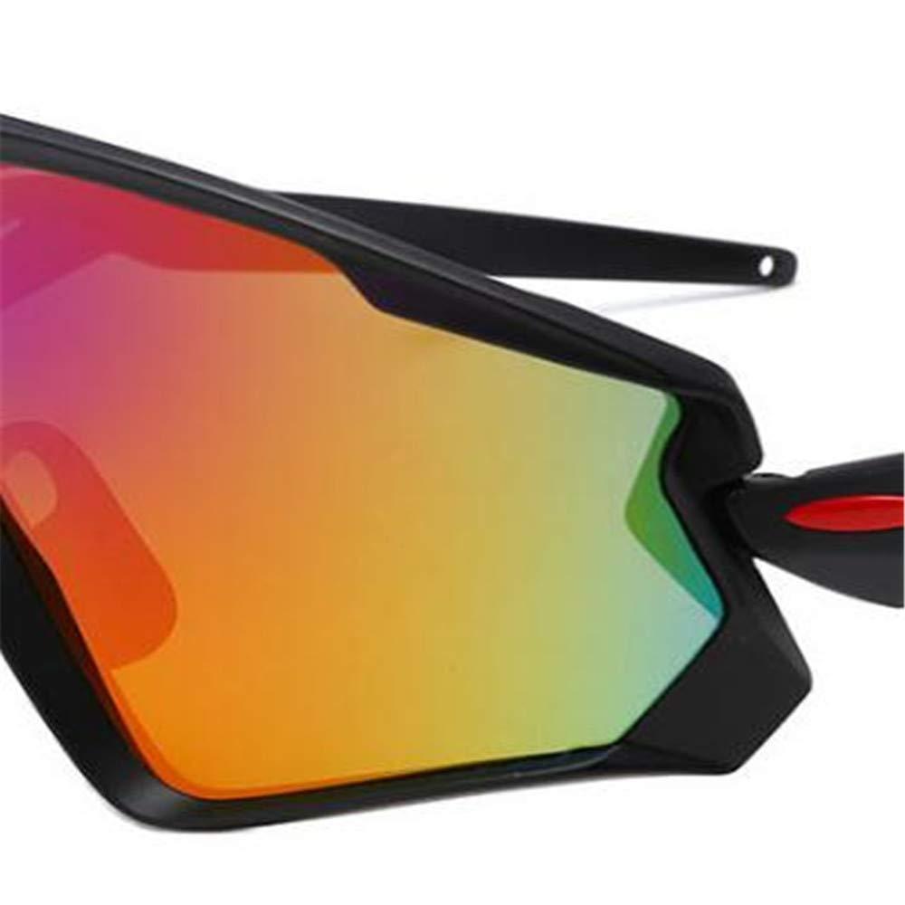 37902cce4d Amazon.com  Yzibei Men s Sunglasses Wind Outdoor Cycling Glasses Sunglasses  Cycling Glasses to Dazzle Colour  Home   Kitchen