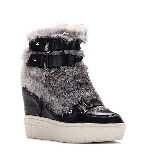 Ash Women's Fashion Animal Sneakers 350594 Black SZ 35 by Ash (Image #4)