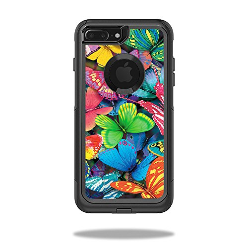 Buy Iphone Apple (Skin For OtterBox Commuter iPhone 7 Plus Case – Butterfly Party | MightySkins Protective, Durable, and Unique Vinyl Decal wrap cover | Easy To Apply, Remove, and Change Styles | Made in the USA)