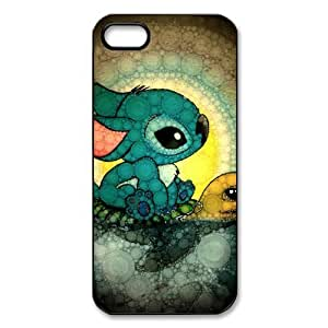 Customize Cartoon Lilo & Stitch Back Cover Case for iphone 5 5S JN5S-2407