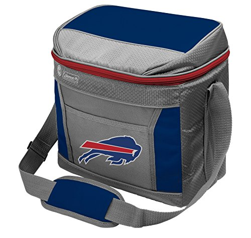 NFL Soft-Sided Insulated Cooler Bag, 16-Can Capacity with (Bills Bag)