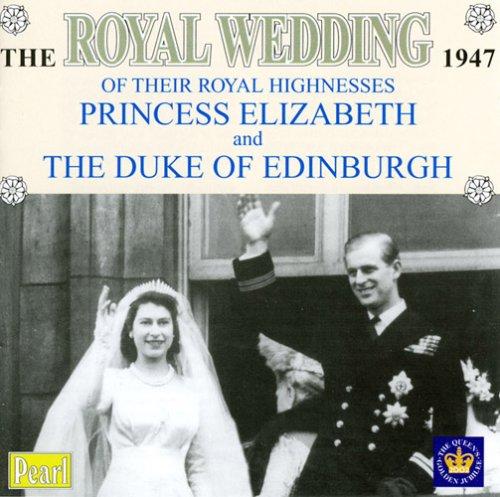 Royal Wedding 1947 Princess Elizabeth & Edinburgh by Pearl