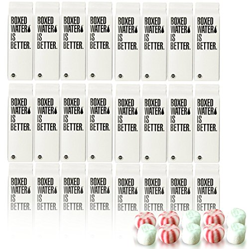 Boxed Water Is Better Including Thank You Mints, 250ml, 24 Piece