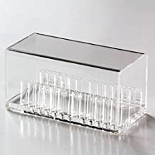 Tinsay Dental Acrylic Organizer Holder For Orthodontic Round Arch Wires Case Preformed Round Arch Wires Acrylic