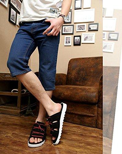 miaozaigou MZG Le nuove parole trascinano gli amanti dei pattini di gomma resistenti agli usura dei sandali casuali, 1, 44