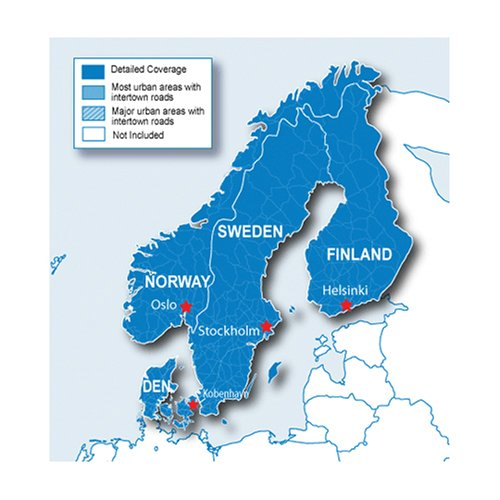 (Garmin City Navigator Nordics for Detailed Maps of Denmark, Finland, Norway, and Sweden (microSD/SD)