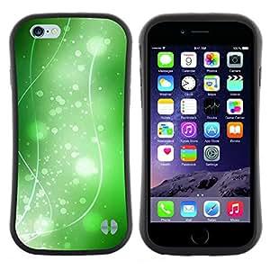 "Hypernova Slim Fit Dual Barniz Protector Caso Case Funda Para Apple (5.5 inches!!!) iPhone 6 Plus / 6S Plus ( 5.5 ) [Naturaleza Hermosa Forrest Verde 36""]"