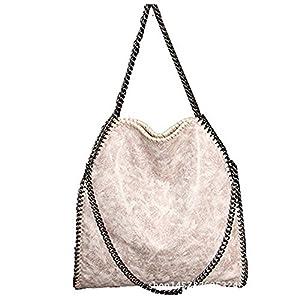 82c5711566 Hosiare 1X Le donne annata della borsa del cuoio del sacchetto di spalla  del Tote della cartella