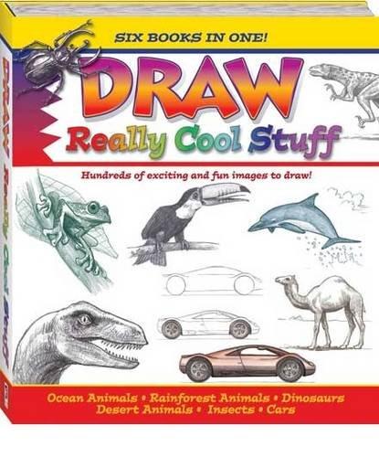 draw really cool stuff doug dubosque 9781741832037 amazon com books