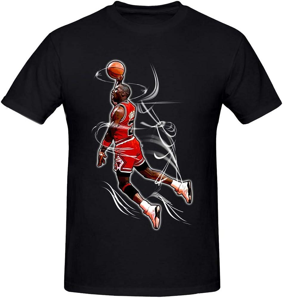 XXW Jordan Dunk MJ T Shirt Elegante Camiseta Hombre Casual Camiseta Moda Casual Niza Manga Corta S-5XL: Amazon.es: Ropa y accesorios