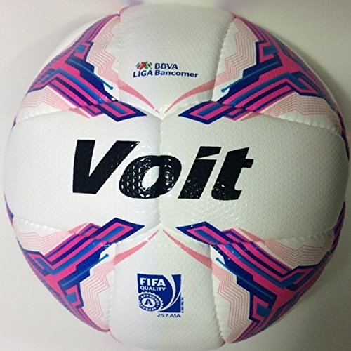Voit Soccer Ball New 2015-2016 Official Pink Size 5 by Voit