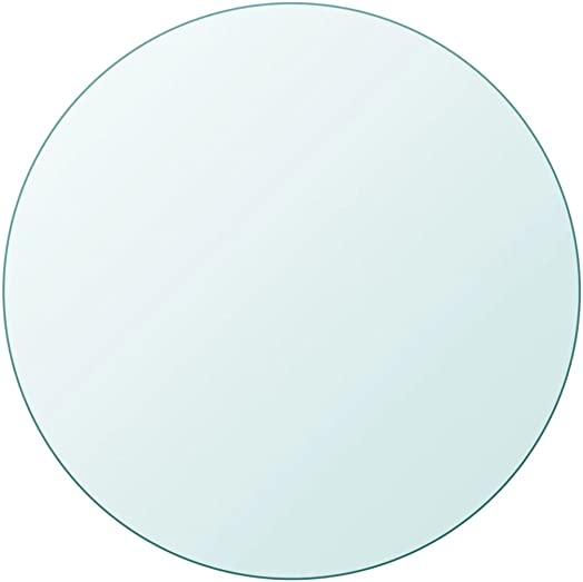 Canditree 31.5″ Round Tempered Glass Table Top