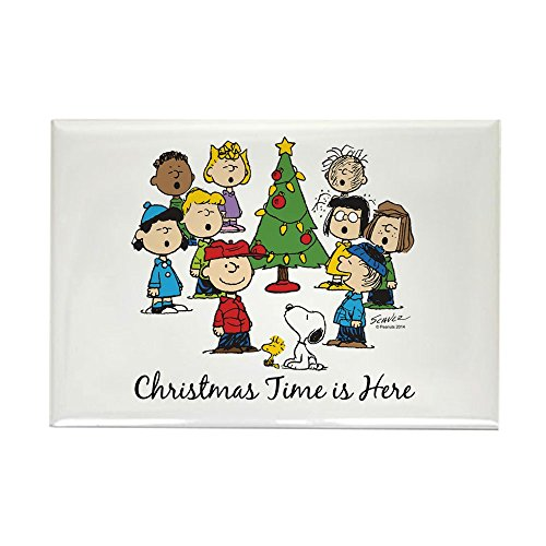 CafePress - The Peanuts Gang: Christmas Is He Magnets - Rectangle Magnet, 2