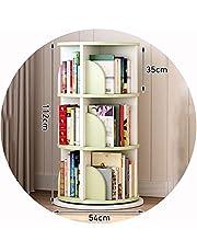 WWWANG Kleine kinderen Bookshelf 360 ° Rotating Boekenkast, kleurrijke Fun Multifunctionele Book Aflegplateau for Children's Room/Game Room/kleuterschool, Gift for kinderen