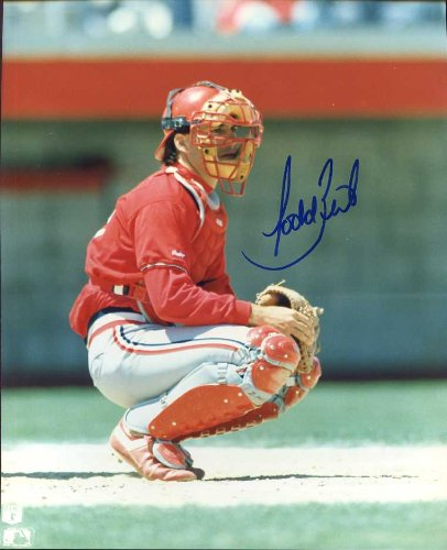 (Todd Zeile Autographed/ Original Signed 8x10 Color Photo Showing Him with the St. Louis Cardinals - His First Team)