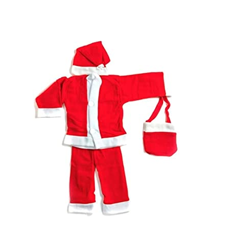 9f39df53813d Buy BabyBlossom Christmas Santa Claus Fancy Dress Costume for Baby ...