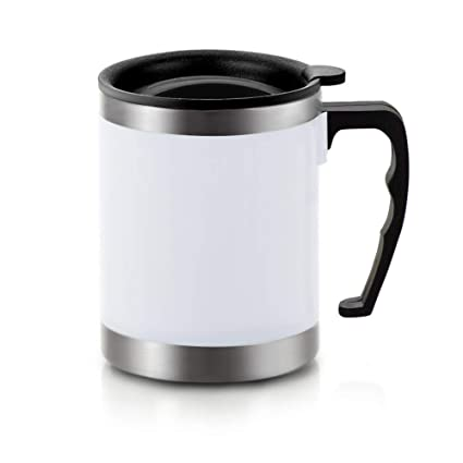 Amazoncom Stainless Steel Insulated Coffee Mugs With Lid And