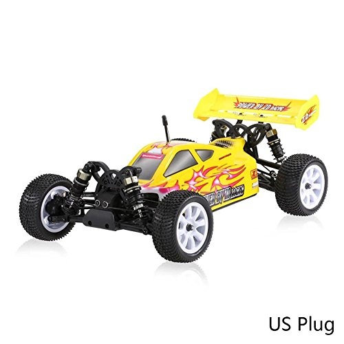 1/10 4WD ZD Racing 10421 RC Truggy DIY Kit Model w/Chassis Tyre Body Shell for Boys Kids Christmas Best Gift with Storage Bag Battery Charger (55km/h )by ()