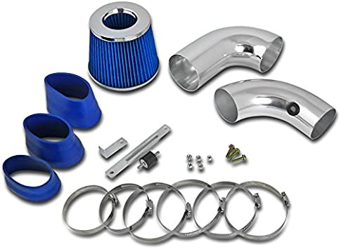 K/&N+BLUE RED 96-05 CHEVY S10//ZR2//ZR5//BLAZER//SONOMA//JIMMY 4.3 V6 COLD AIR INTAKE