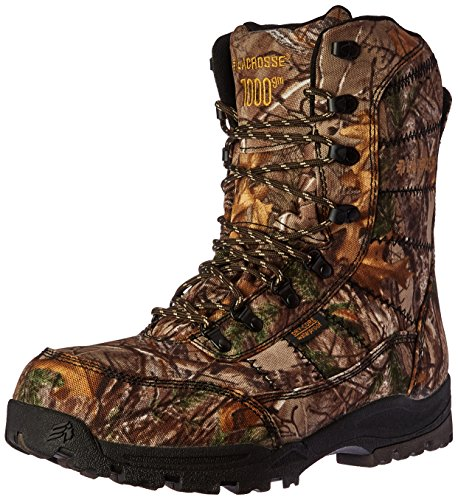 Lacrosse Men's Silencer Realtree Xtra 1000G-M, Real Tree, 12 M US