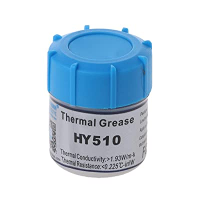 KUKALE Silicone Paste 15g HY510 CPU Thermal Grease Heat Conductive : Garden & Outdoor