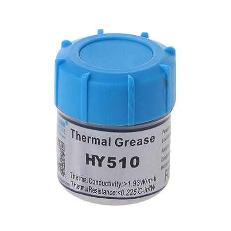 YUYUE21 (1pc Pasta térmica de Silicona para CPU HY510 (Alta ...