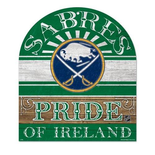 NHL Buffalo Sabres Wood Club Sign, 10 x 11