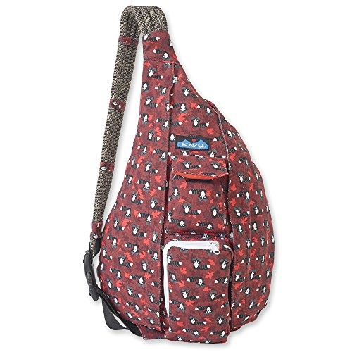From Usa ★ Kavu Rope Bag Neon Montage One Size