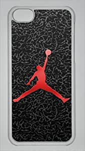 TYHde Michael Jordan, NBA Chicago Bulls #23 Black and White Custom PC Transparent Case for iPhone 6 4.7 by icasepersonalized ending