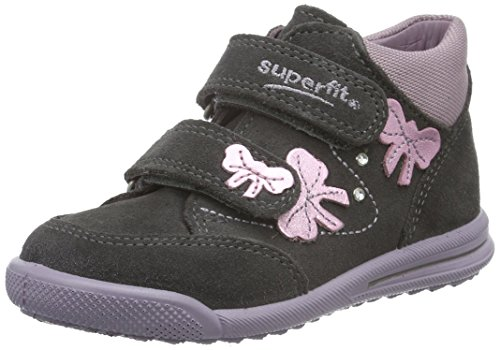 Superfit AVRILE MINI 700371, Baby Mädchen Lauflernschuhe Grau (STONE KOMBI 06)