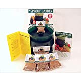 Living Whole Foods Sprouter and Organic Seeds Basic Sprouting Kit