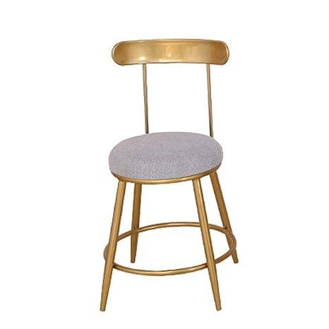 Amazon.com: LBS Taburetes de barra para silla alta, de metal ...