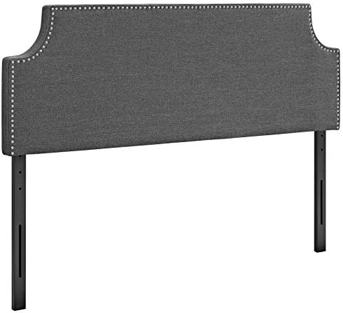 home, kitchen, furniture, bedroom furniture, beds, frames, bases, headboards, footboards,  headboards 8 image Modway Laura Upholstered King Headboard Size with Cut in USA