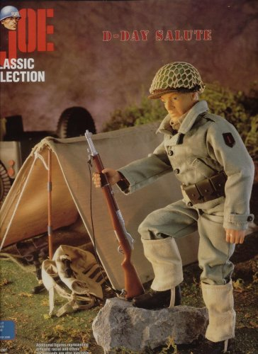 """12"""" GI Joe WWII D-Day Salute First Infantry Division """"Big Red One"""" Action Figure"""