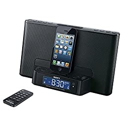 Sony Icfcs15ipn Lightning Alarm Clock Radio Speaker Dock for Iphone 5 5s 6 Ipod