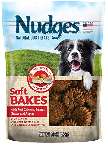 Nudges Soft Bakes with Chicken, Peanut Butter and Apples, 10 oz