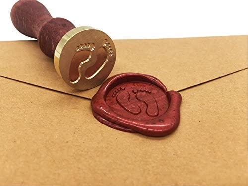 Retro Metall Gold-Thank you f/ür Hochzeitseinladungen Vintage Bastelzubeh/ör klassischer Stil romantisches Symbol Wachssiegel Siegelstempel