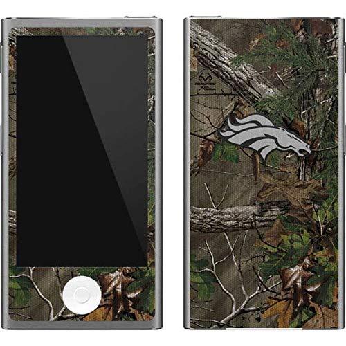 Skinit NFL Denver Broncos iPod Nano (7th Gen&2012) Skin - Denver Broncos Realtree Xtra Green Camo Design - Ultra Thin, Lightweight Vinyl Decal Protection - Denver Broncos Nfl Nano