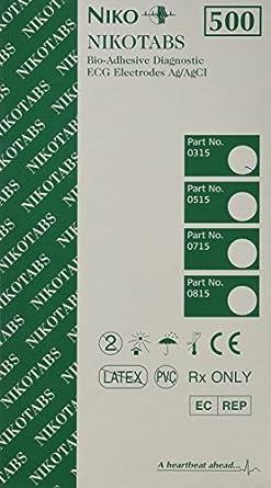 Nikotabs EKG Electrodes - 500/bx