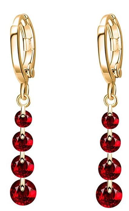 Bonyak Jewelry 18 Inch Rhodium Plated Necklace w// 6mm Light Purple February Birth Month Stone Beads and 5-Way Charm