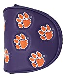 PRG Americas NCAA Clemson Tigers Mallet Putter Cover, Purple