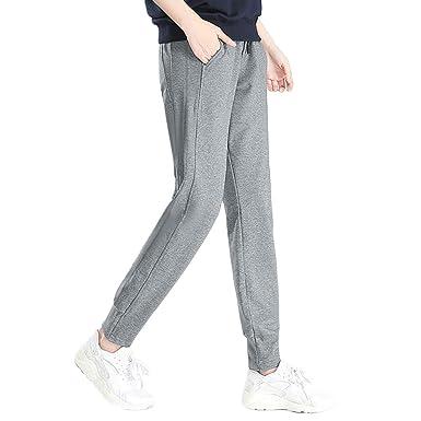 MEYINI Pantalones de chándal con cordón para Mujer Pantalón ...