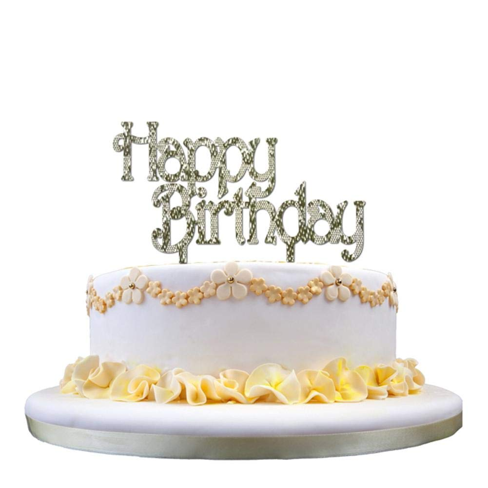 Paul03Daisy Cake TopperTorte Topper Cupcake TortensteckerHappy Birthday Kuchendekoration Toppers Kuchen Deko Amazonde Kuche Haushalt