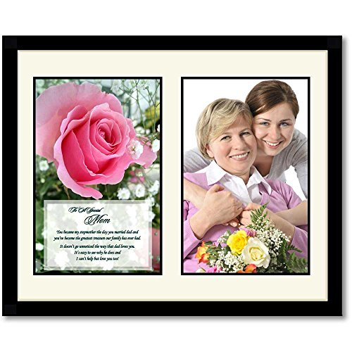 Birthday or Christmas Gift for Stepmother, Heartfelt Poem for Stepmom, Add Photo (Best Gifts For Stepmothers)
