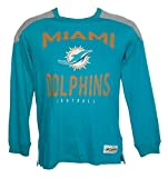 Miami Dolphins Youth X-Large (18) XL Long Sleeve Shirt - Team Colors