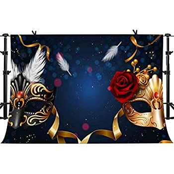 Amazon.com : Golden Mask Red Rose Photography Backdrop for