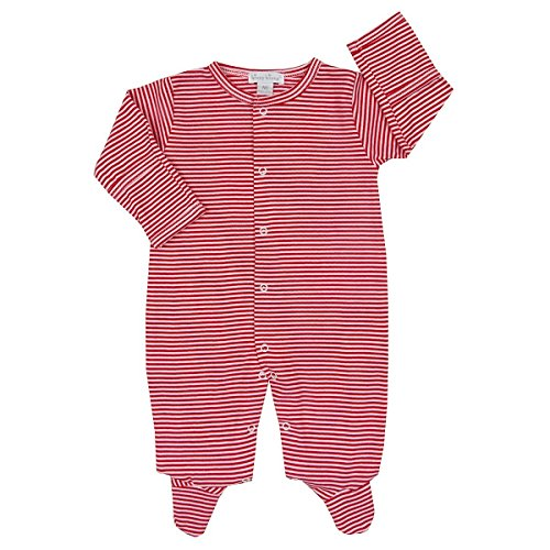 Kissy Kissy Baby Kissy Essentials Stripe Footie