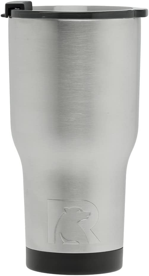 RTIC Double Wall Vacuum Insulated Tumbler, 20 oz, Stainless Steel