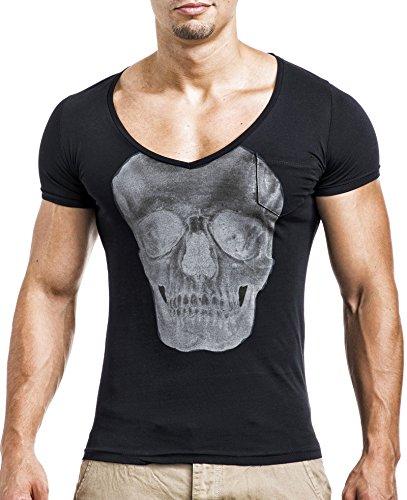 L Tamaño Balandi Verde Clubwear Sudadera Negro Hombre Camiseta Para U6rUwxqzR